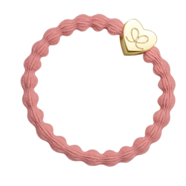 ByEloise Gold Heart Coral