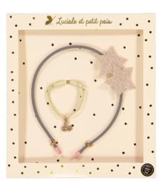 LUCIOLE ET PETIT POIS - PINK STARS