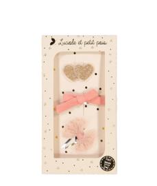LUCIOLE ET PETIT POIS - PINK HEART