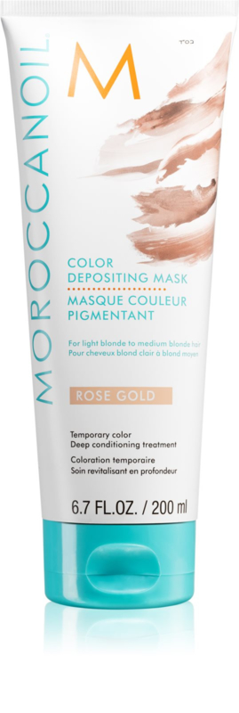 Moroccanoil Colour Depositing Mask  Rose Gold