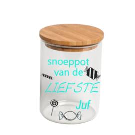 Snoeppot Voor juf/ meester
