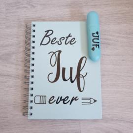 Notitieboek - Beste Juf ever