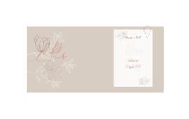 Geboortekaart meisje | Leaves