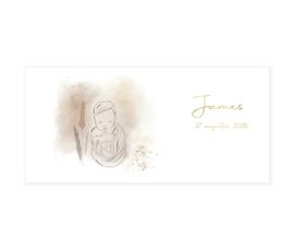 Geboortekaart | Tederheid