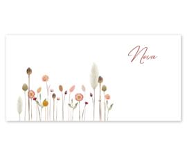 Geboortekaart | Flowers