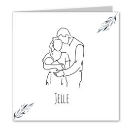 Geboortekaart jongen | First love