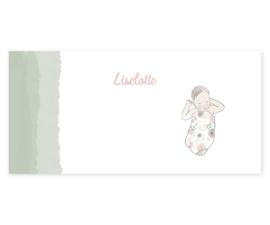 Geboortekaart meisje | Flower