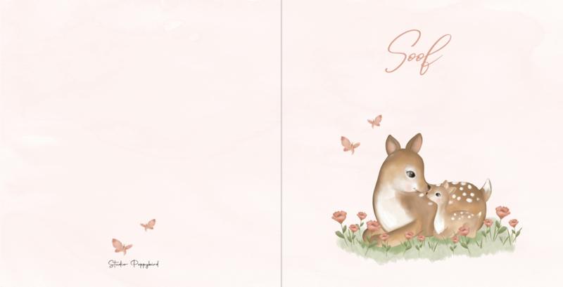 Geboortekaart meisje | Darling Deer