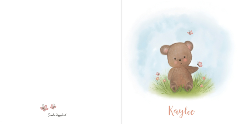Geboortekaart jongen | Beary sweet