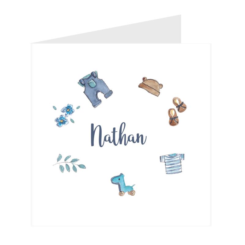 Geboortekaart Jongen   Baby Stuff