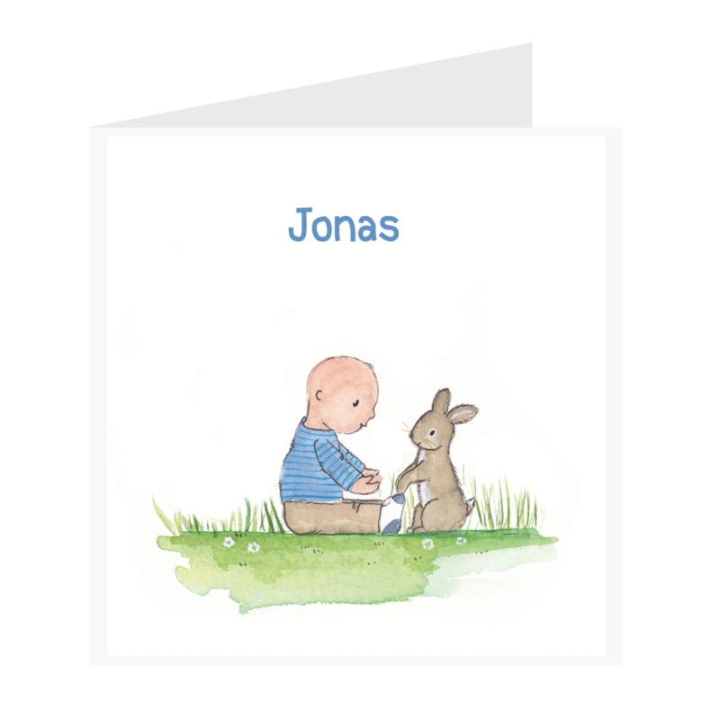 Geboortekaart jongen | Friends