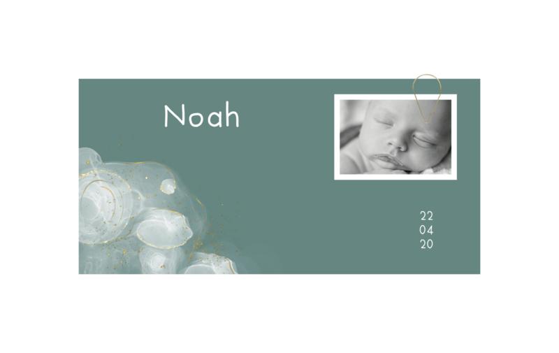 Geboortekaart   Wonder