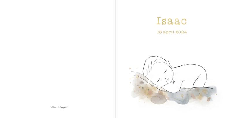 Geboortekaart jongen | Inky