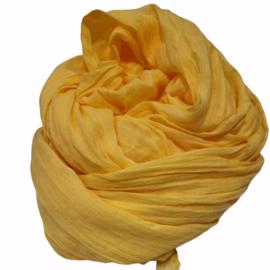 Viscose sjaal geel