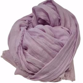 Viscose sjaal lila