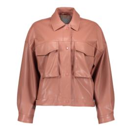 Geisha pu jacket