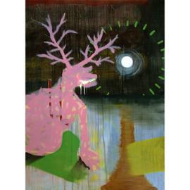 'Gewoon het canvas en ik' schilderijen 006