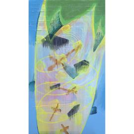 'Gewoon het canvas en ik' schilderijen 002
