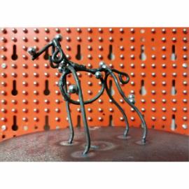 'De veelvormige hond' met draaischijf