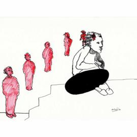 'Jaar 2000' tekening  nr. 006