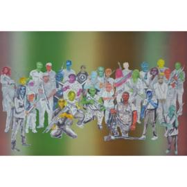 'Schilderen in verschil' serie 002