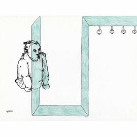 'Jaar 2000' tekening  nr. 012