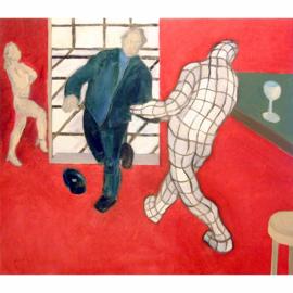 Gerasterde schilderijen 003