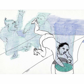 'Jaar 2000' tekening  nr. 009