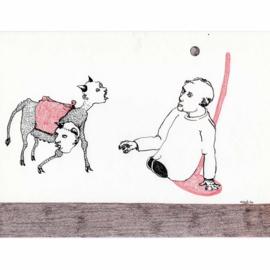 'Jaar 2000' tekening  nr. 015