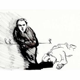 'Jaar 2000' tekening  nr. 008