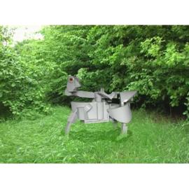 Modelbouwpakket van een animale sculptuur