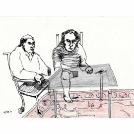 'Jaar 2000' tekening  nr. 003