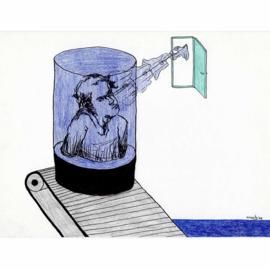 'Jaar 2000' tekening  nr. 018