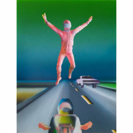 'Racer Malevich' serie 001