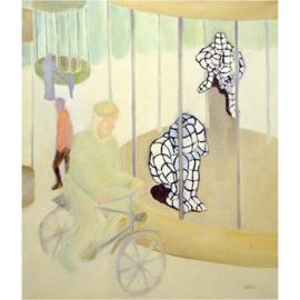 Gerasterde schilderijen 006