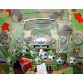 Video naar schilderij serie 001