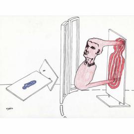 'Jaar 2000' tekening  nr. 016