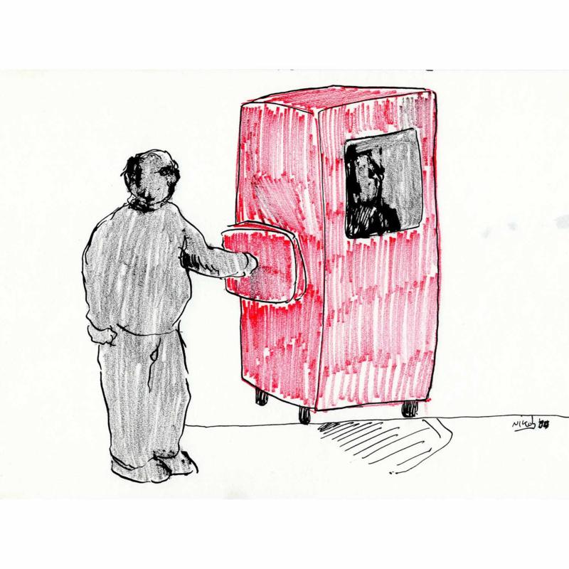 'Jaar 2000' tekening  nr. 001