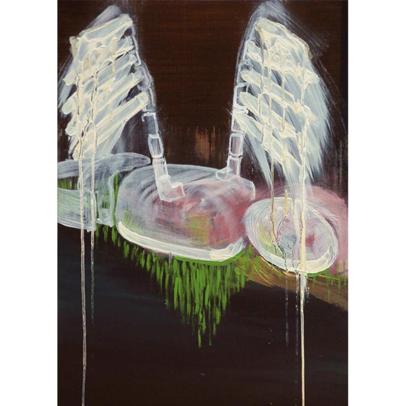 'Gewoon het canvas en ik' schilderijen 003