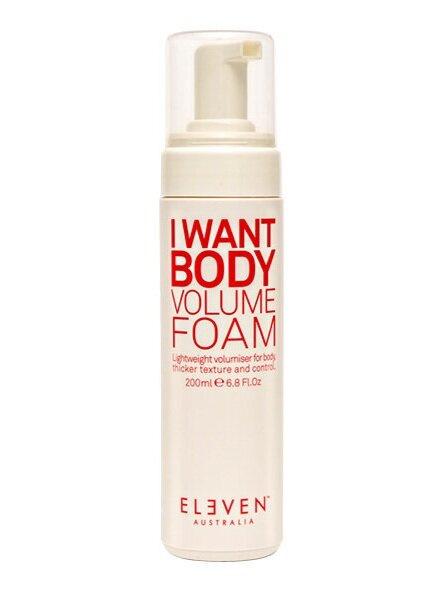 I Want Body Volume Foam *VEGAN
