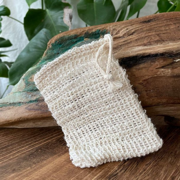 Sisal Exfoliating Pouch for Soap bars