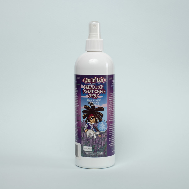 Knottyboy Leave in Dreadlock Conditioning Spray Purple Haze & Lavender LAATSTE STUK!