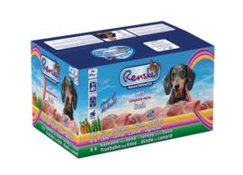 Renske gestoomd Vers vlees complete menu 24x395 gram