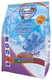 Renske Ingevroren verse eend en rund 10 x 600 gram