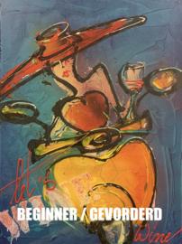 """WOMAN ON SCOOTER - [Beginner / Gevorderd] - TEKENEN MET ACRYLVERF EN SPUITBUSSEN - """"WINE-STYLE"""""""