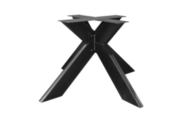 X kruis 90x90cm  kolompoot 15x5cm