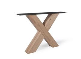 Eiken houten X-poot