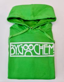 Hoodie green ByGoochem logo