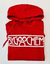 Hoodie rood ByGoochem