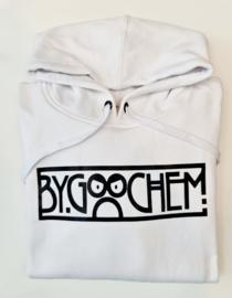Hoodie wit ByGoochem logo